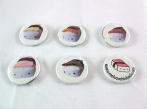 Sushi Shack pins!