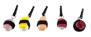 Sushi Phone Charms
