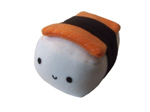 "Sushi Shack Large 10"" plush"