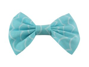 Sushi Shack Hair Bow - Teal