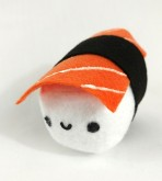 "6"" Salmon Sushi Plush Toy"