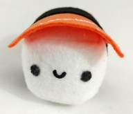 "6"" Salmon Sushi Plush Toy"