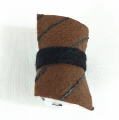 "2"" Unagi Sushi Plush - Top View"